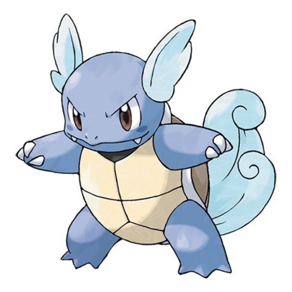 Pokémon: Wartortle Nicknames