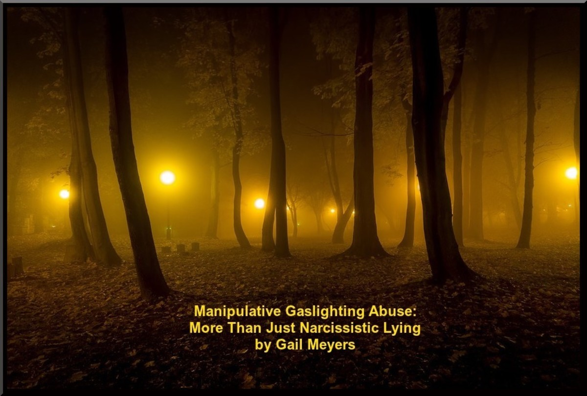 Manipulative Gaslighting Abuse: More Than Just Narcissistic Lying by Gail Meyers