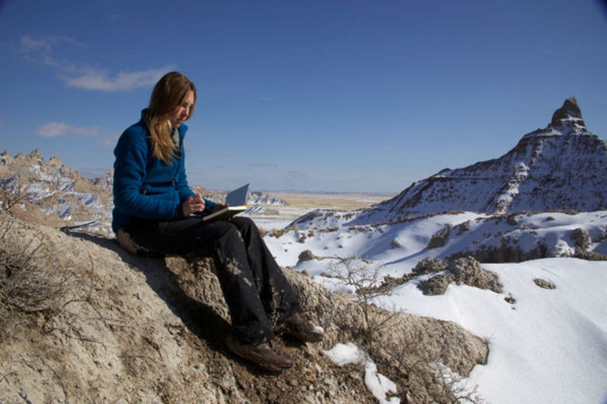 Writing residency in Badlands National Park