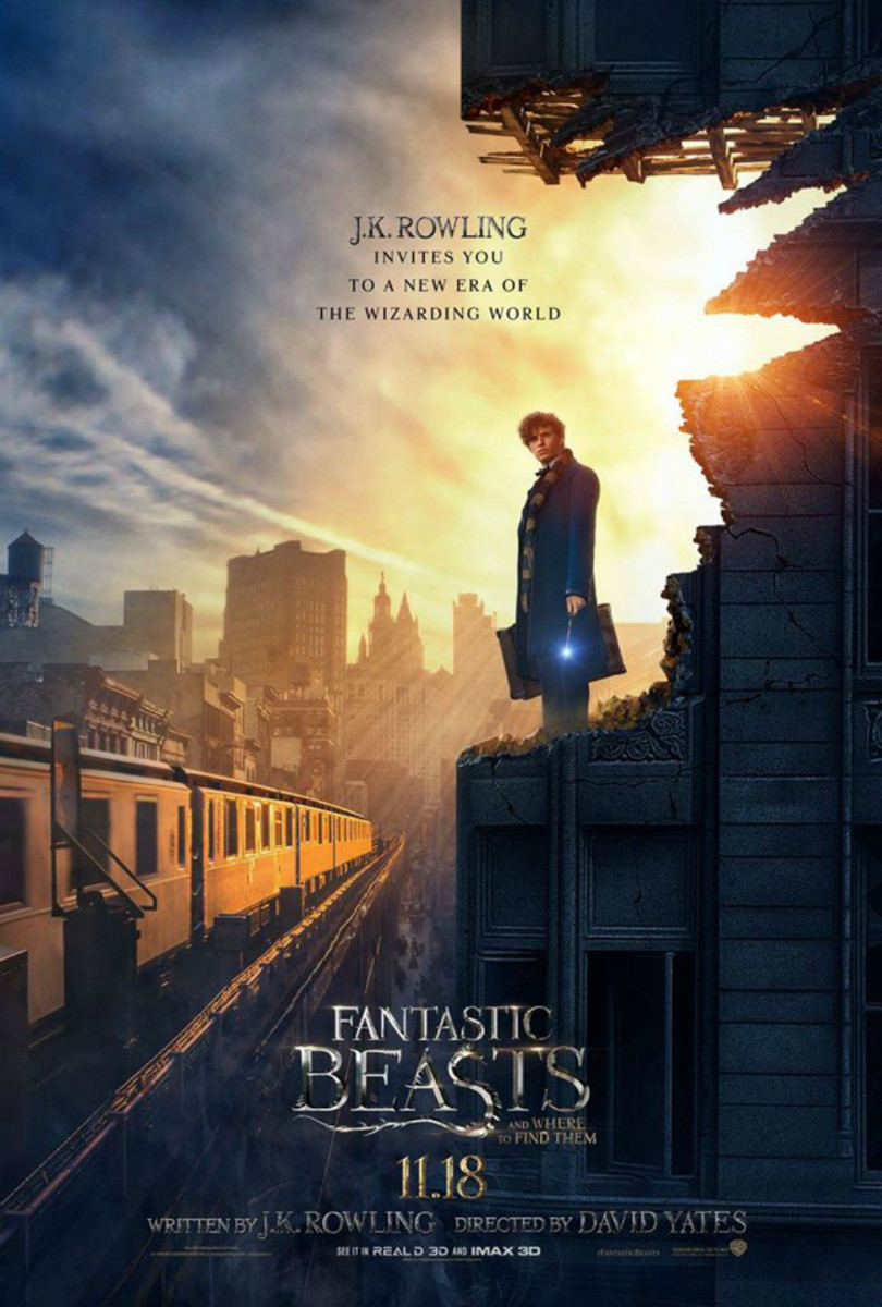 Movie poster for Fantastic Beasts and Where to Find them