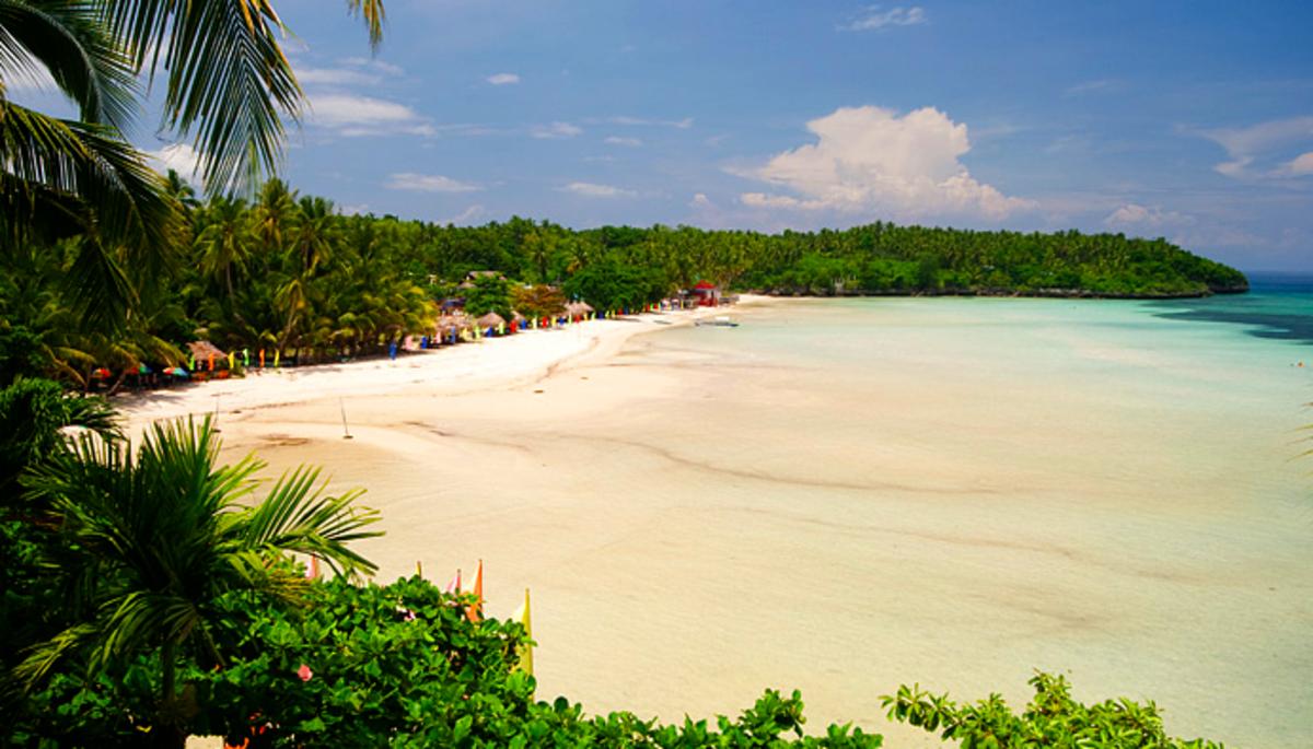 Santiago beach, Camotes Islands..