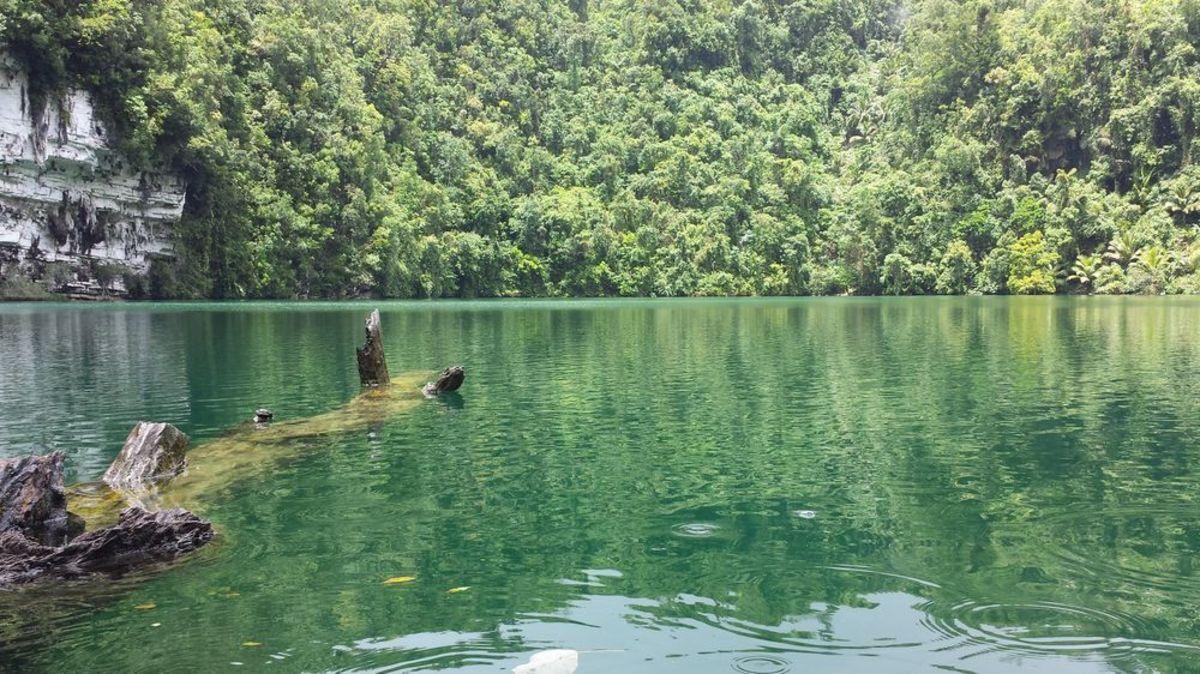 Lake Bababu in Basilisa, Dinagat Island Province