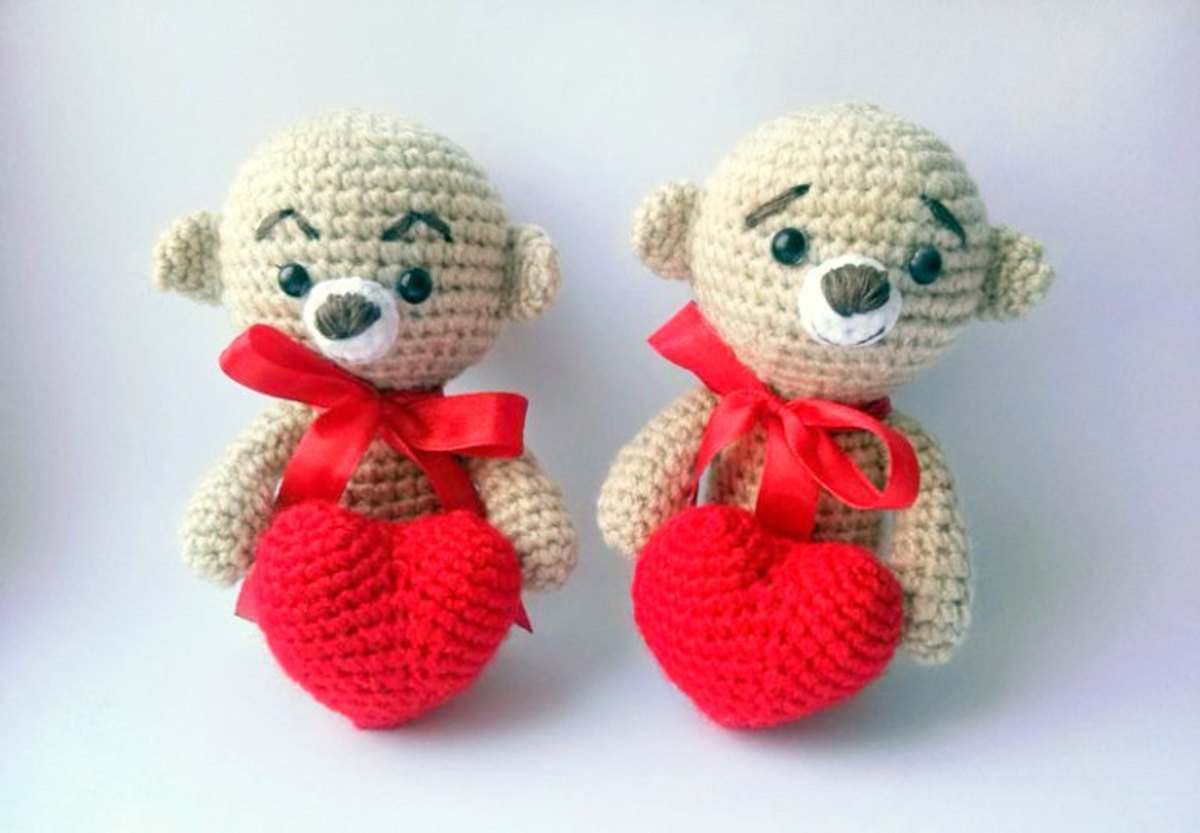 19 Free Valentine\'s Animals Crochet Patterns | HubPages