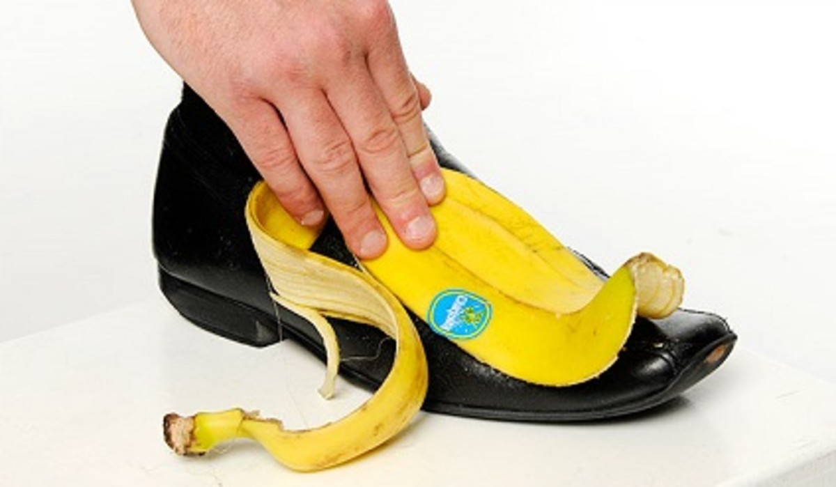 Polishing leather shoes with banana peel will make them shine.