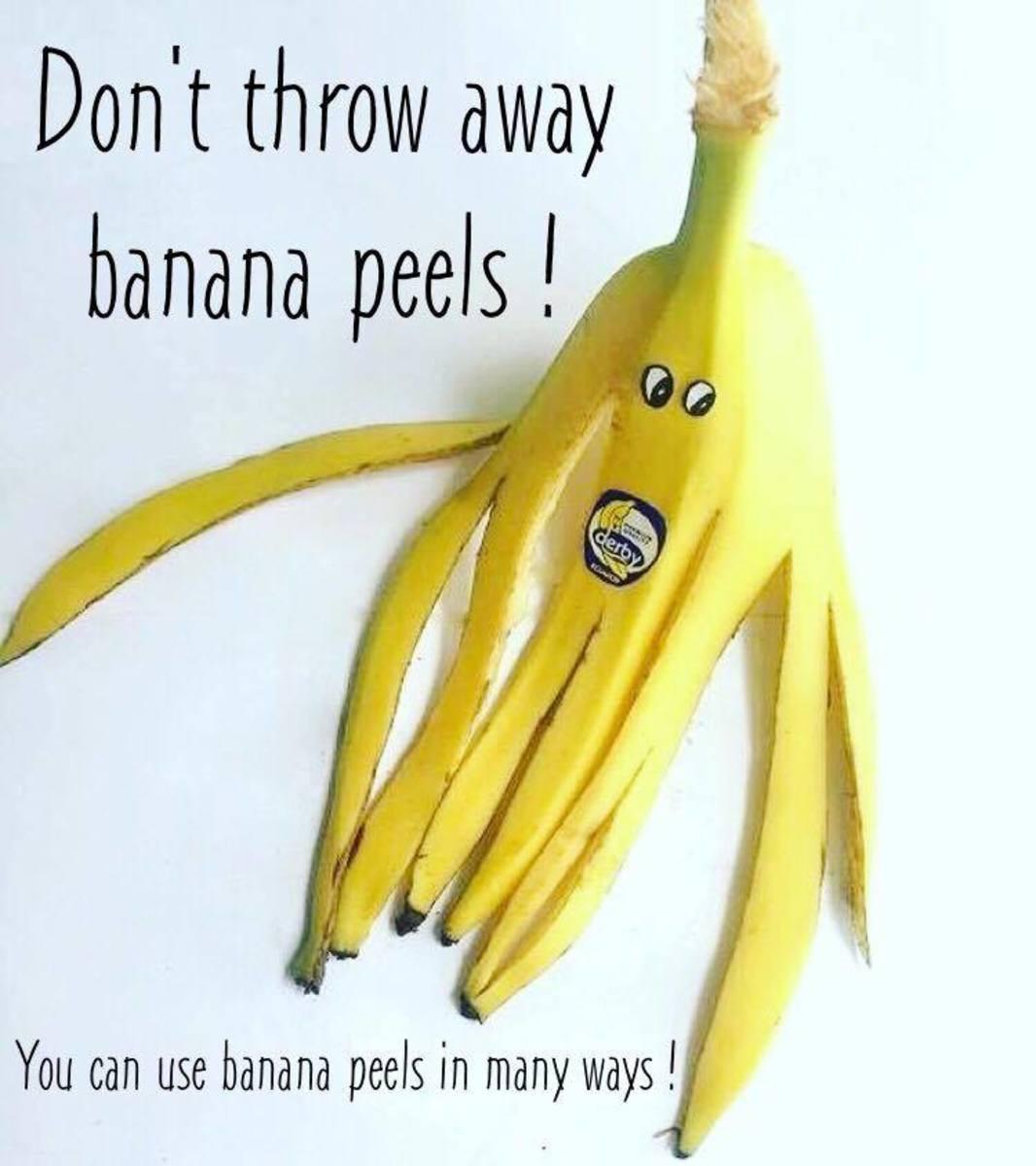 Unusual Uses for Banana Peels