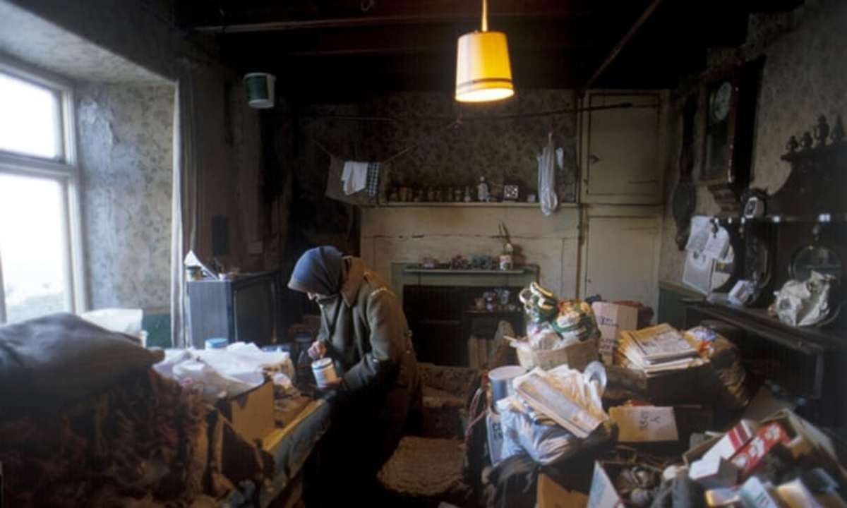 Downstairs in the farmhouse, Hannah has had electricity installed after a local firm organised a collection for her to afford a few luxuries