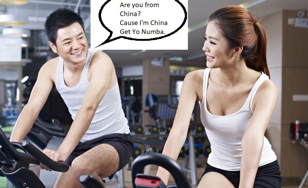 How To Use Chinese Pick Up Lines and Simple Flirtations