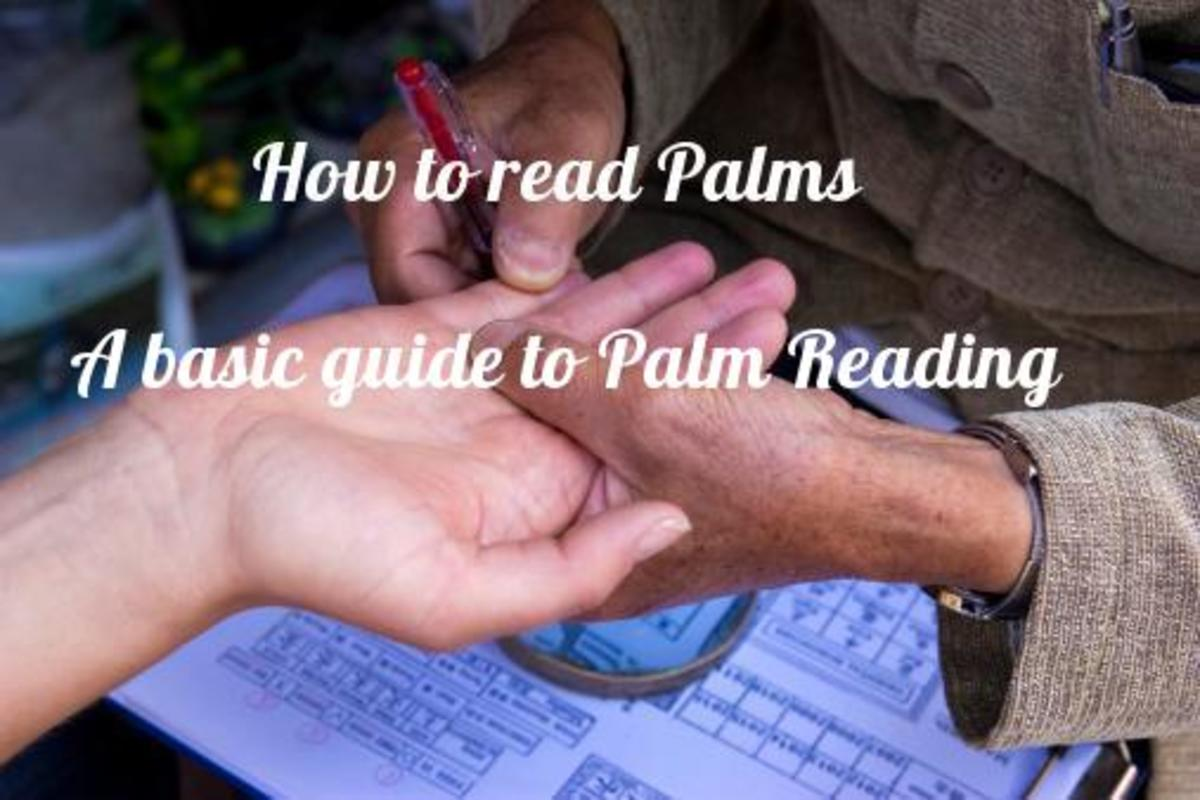 How to read Palms. A basic guide to Palm Reading. quickest way to learn palm reading.