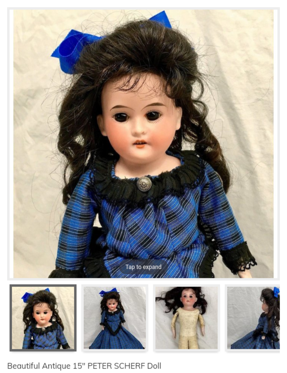 I am not a doll collector, but I would cherish this lovely lady.