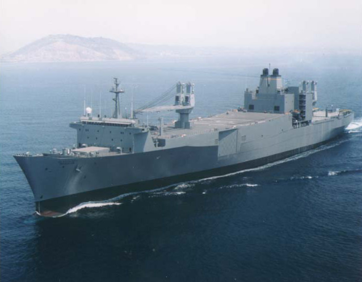 In Navy Ship Form
