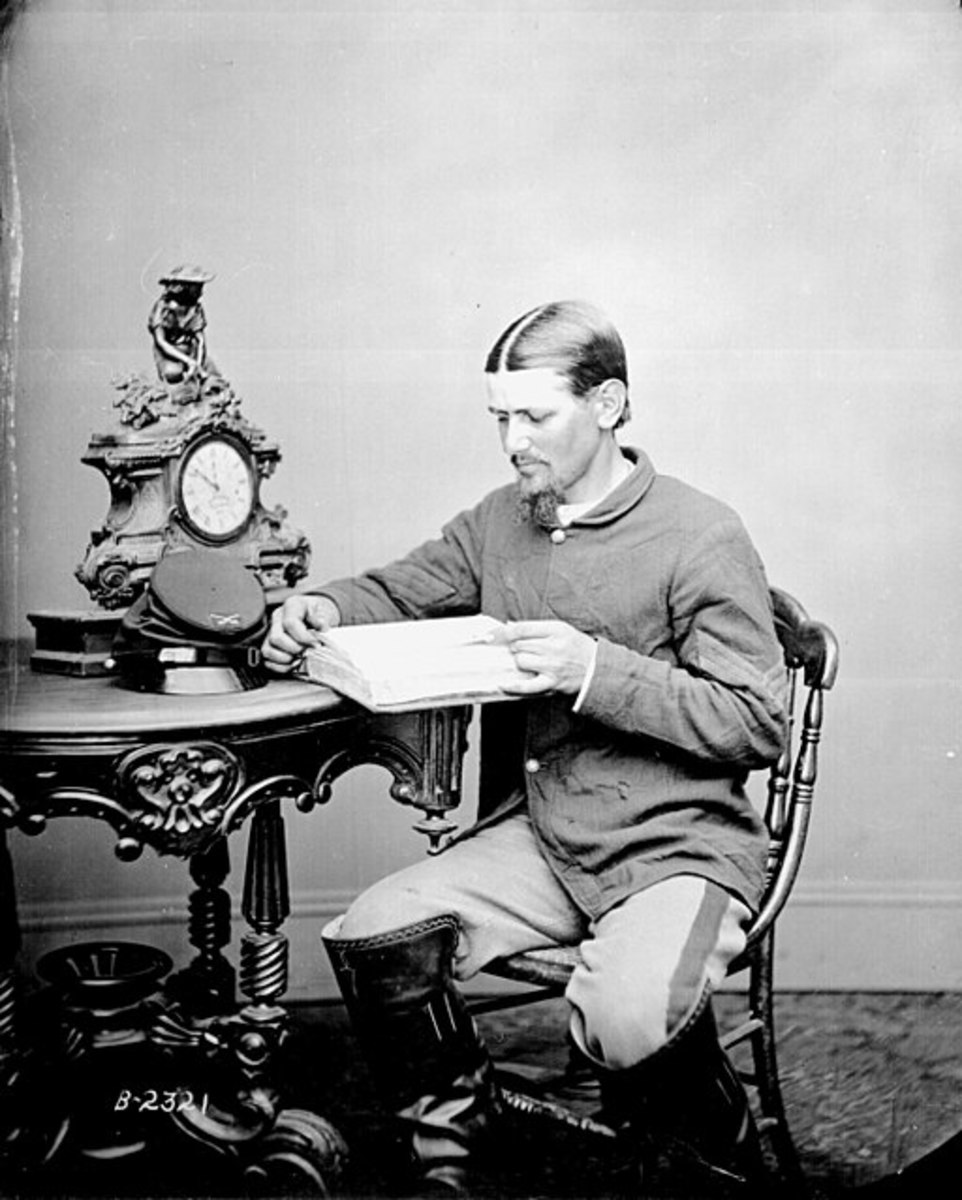 Boston Corbett - Date between circa 1860 and circa 1865