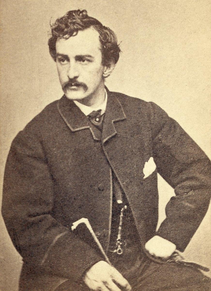 John Wilkes Booth - circa 1865