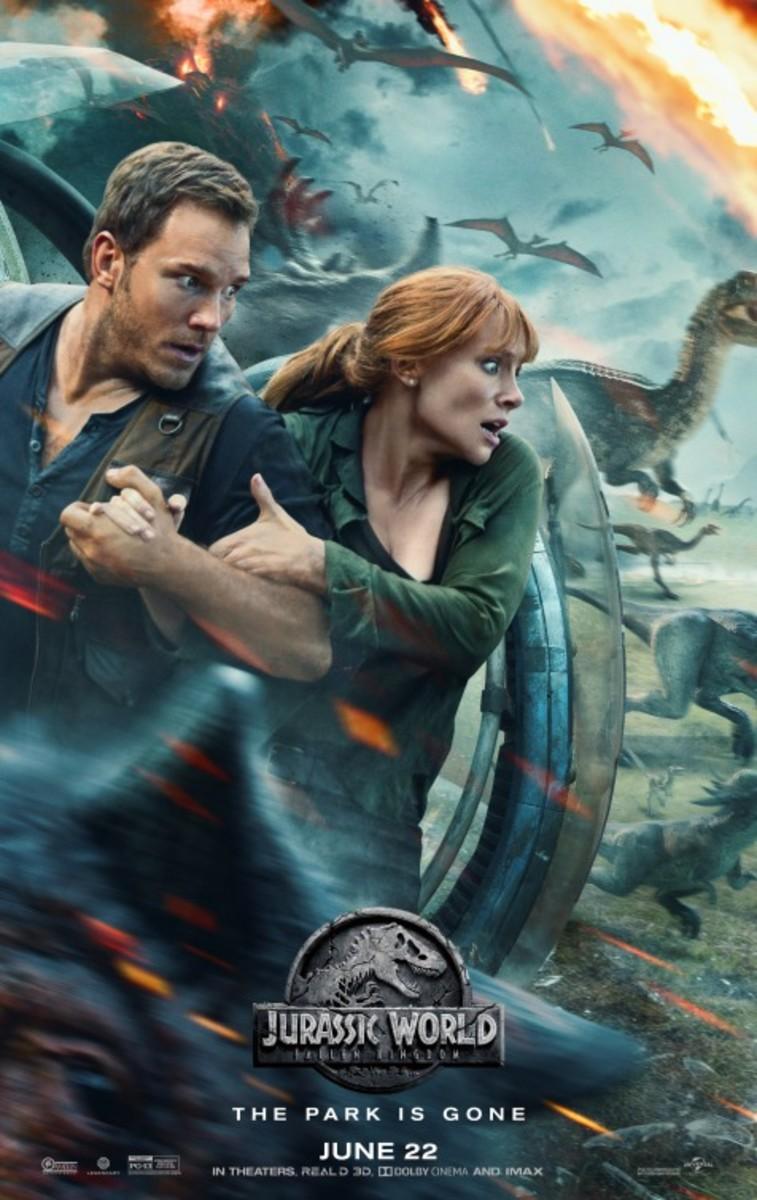Jurassic World 2 Fallen Kingdom (2018) Movie Review