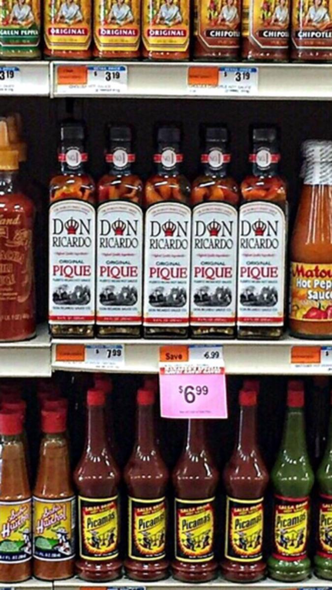 Pique Sauce (Puerto Rican Hot Sauce)