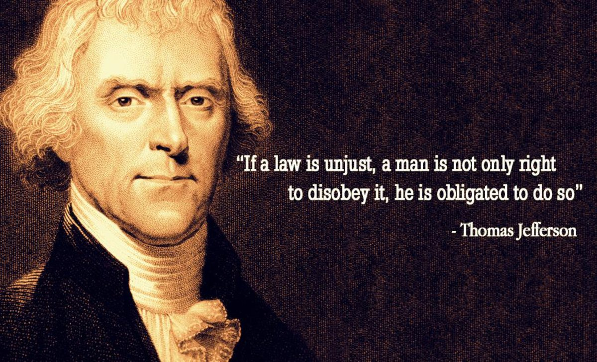 Why You Should Disobey Unjust Laws