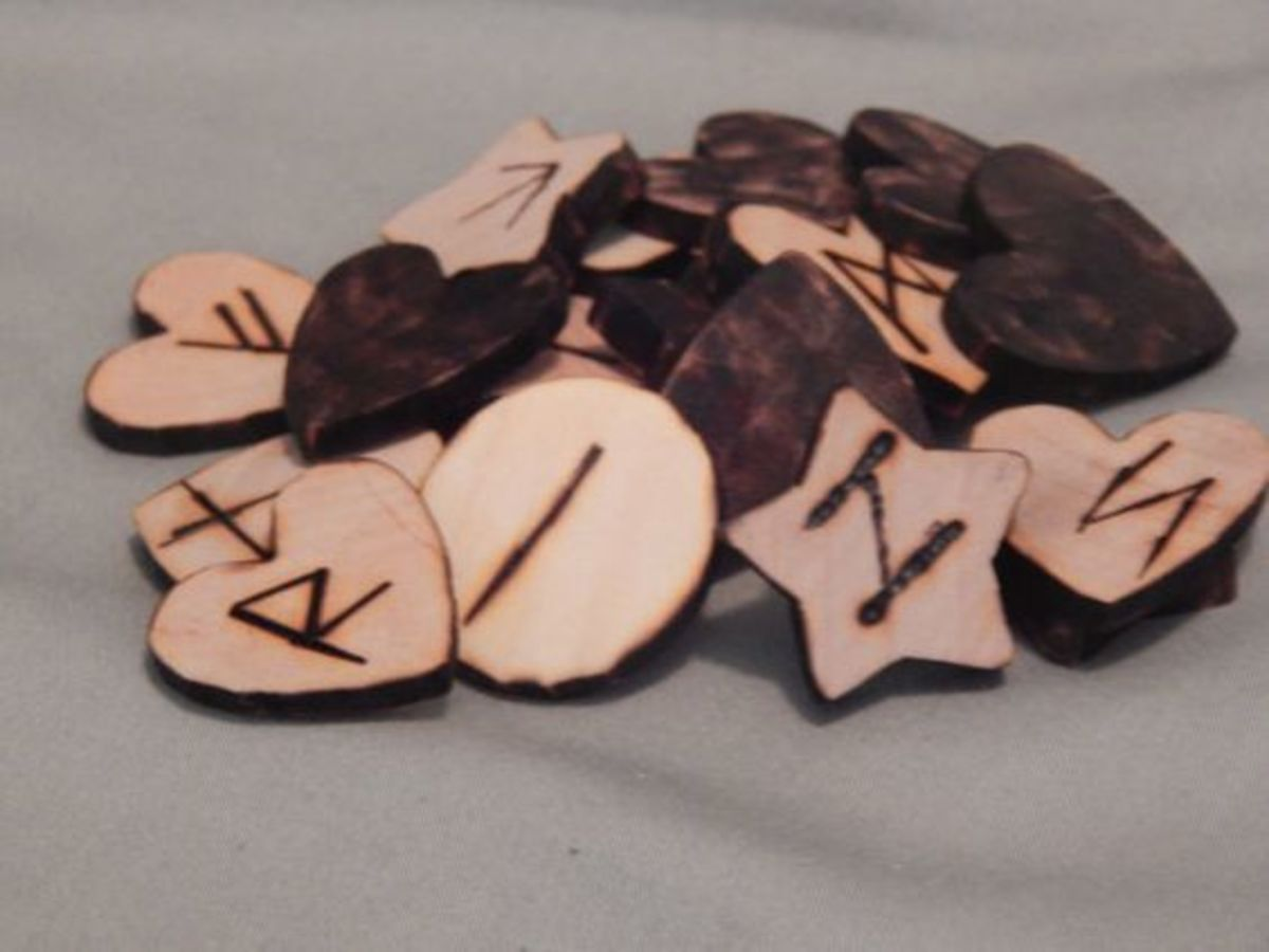 How to Make Your Own Wooden Rune Set