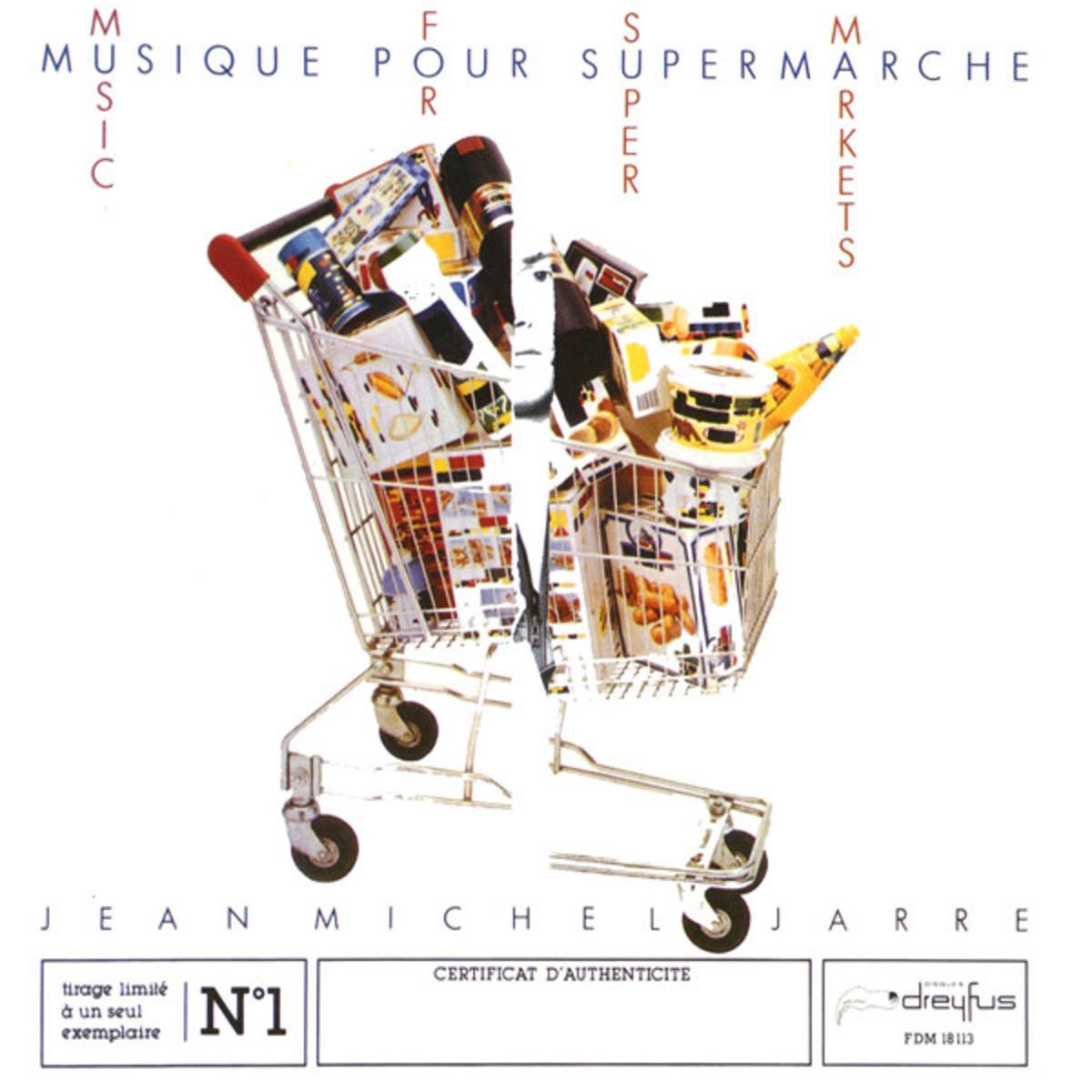 Jean Michel Jarre - Music For Supermarkets - Musique Pour Supermarché (1983)
