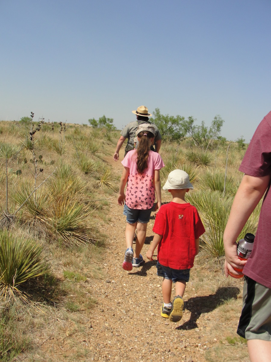 We spent the night in Amarillo and hiked up the Alibates Flint Quarry National Monument in the morning.
