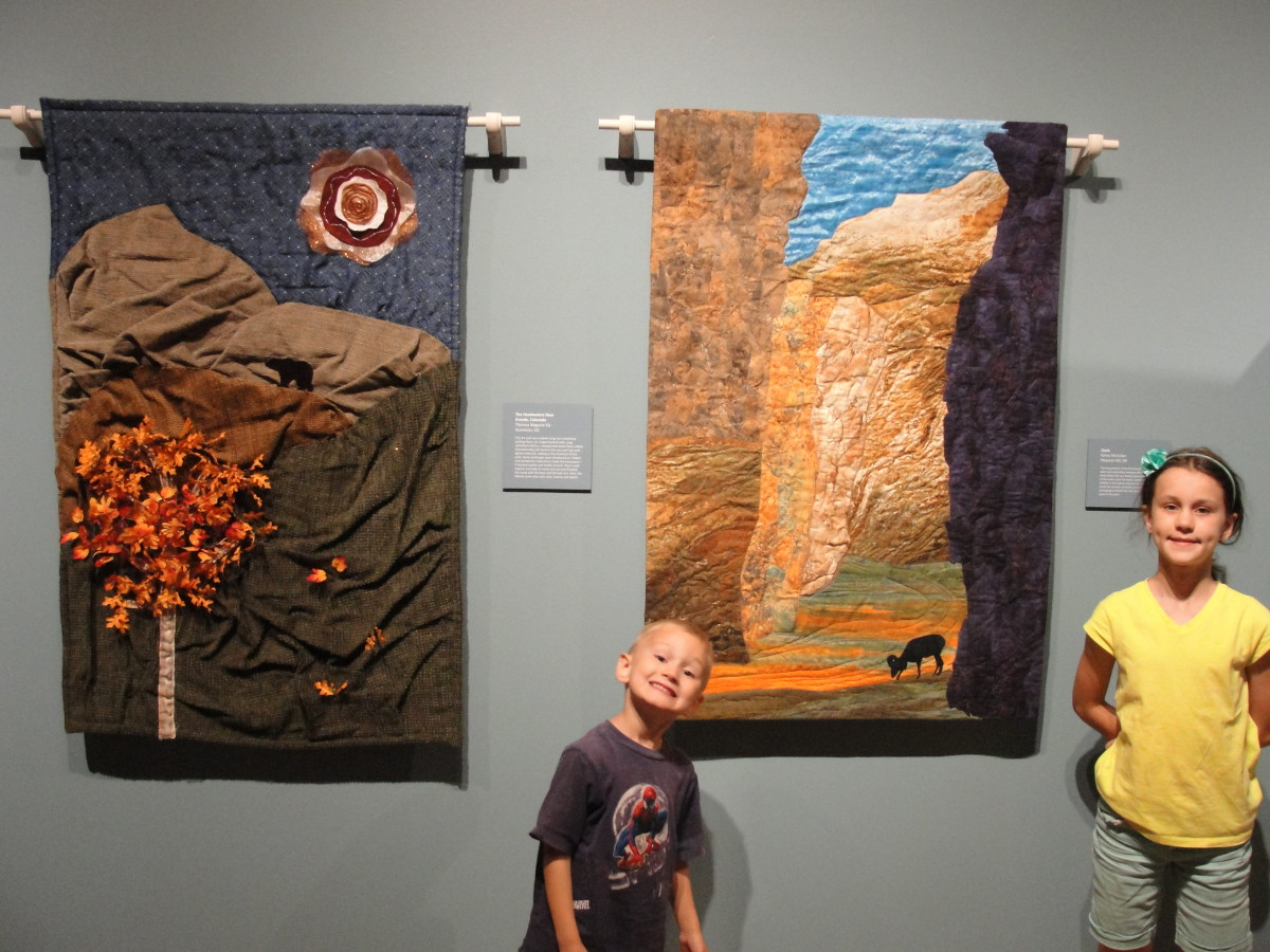 The Cultural Art Center in Las Cruces was okay. We could have skipped it. The changing exhibit included beautiful quilts depicting various aspects of life in NM.