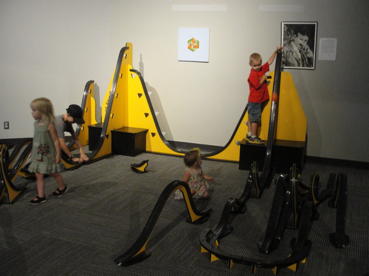 We finished our time in Amarillo at the Don Harrington Discovery Center, which has lots of fun hands-on activities.