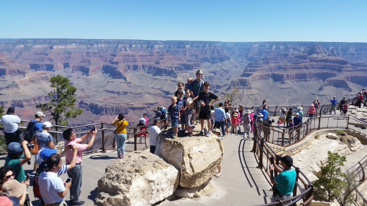 We created wonderful memories to the Grand Canyon and back home!