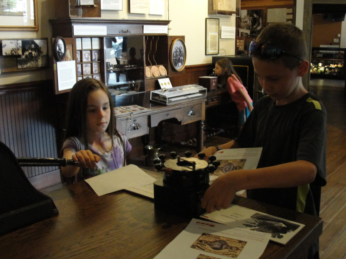 The Wells Fargo Museum was wonderful with a bit of something for everyone and plenty of hands-on exhibits for all the kids.