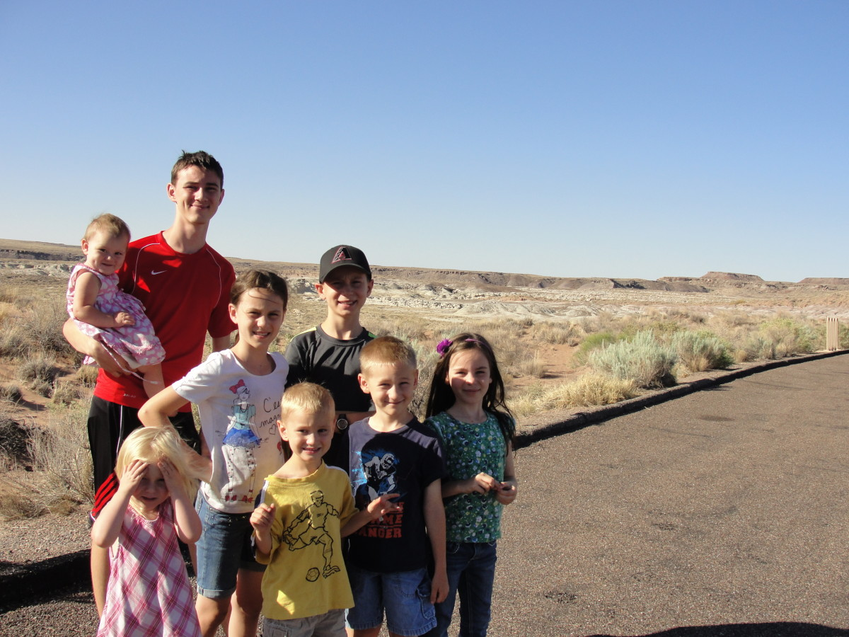 We enjoyed our short time at Petrified Forest National Park.