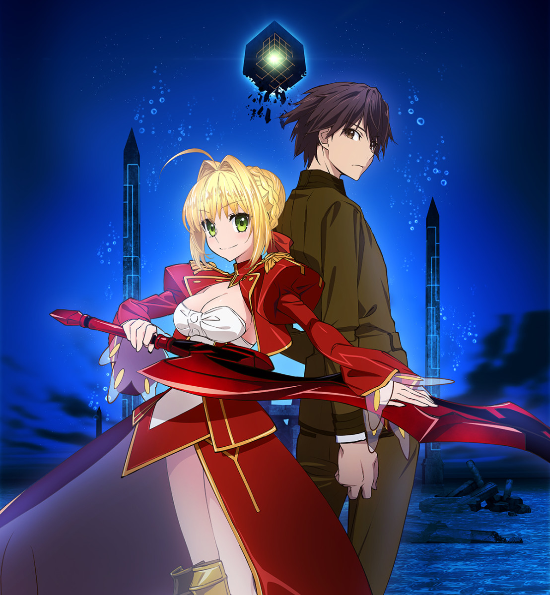 Fate/Extra Japanese blu-ray cover.