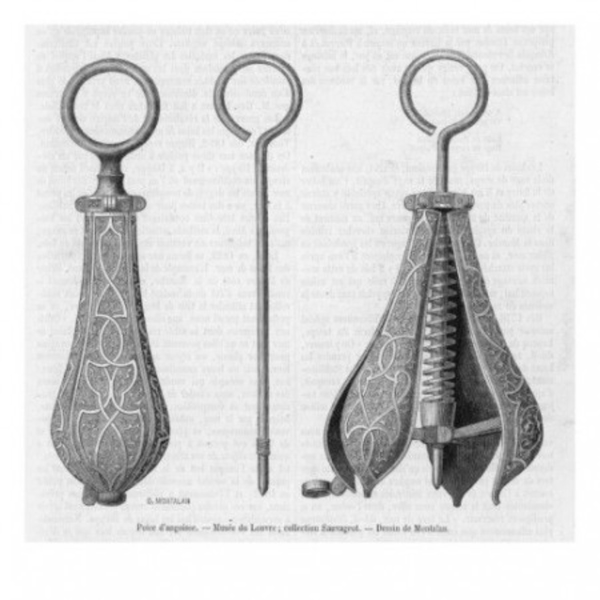 """Cockle shells"" may have been a euphemism for the Pear of Anguish, a torture device most commonly used on women, inserted into them, and opened."