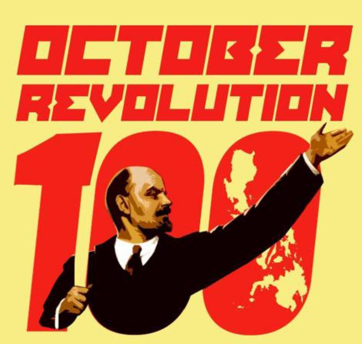 The Russian October Revolution of 1917
