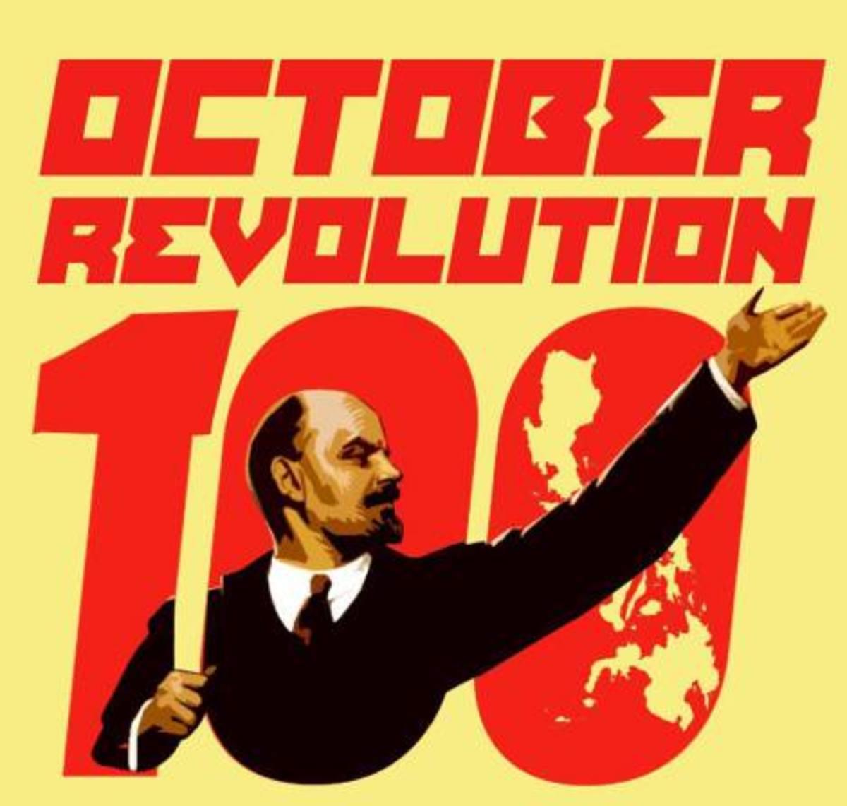 The Russian October Revolution of 1917
