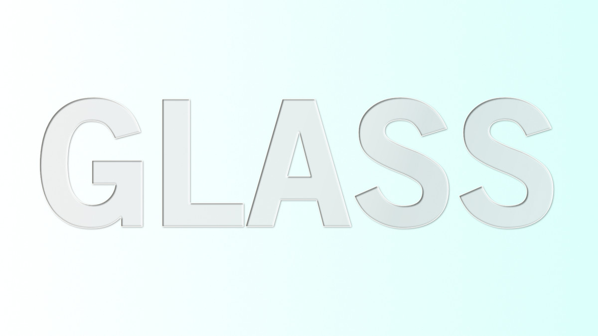 Create Glass Text Effect in Affinity Designer