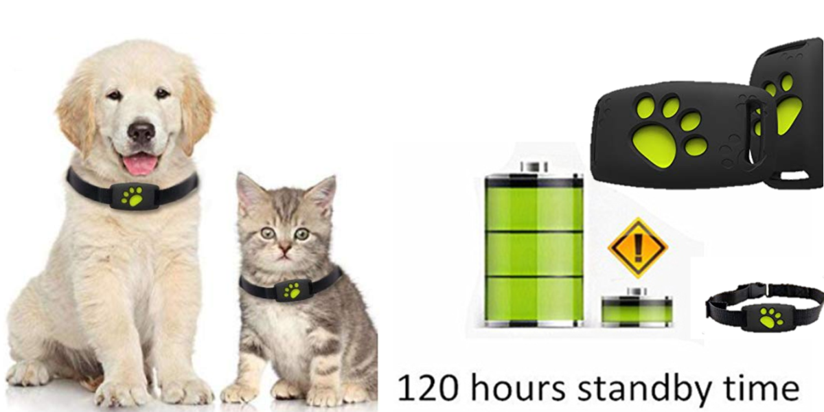 SZFY-TAIOW Mini Pet GPS Tracker | No Monthly Subscription fee