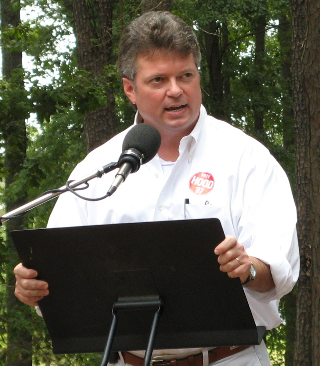 Jim Hood, Mississippi Attorney General, and former resident of New Houlka