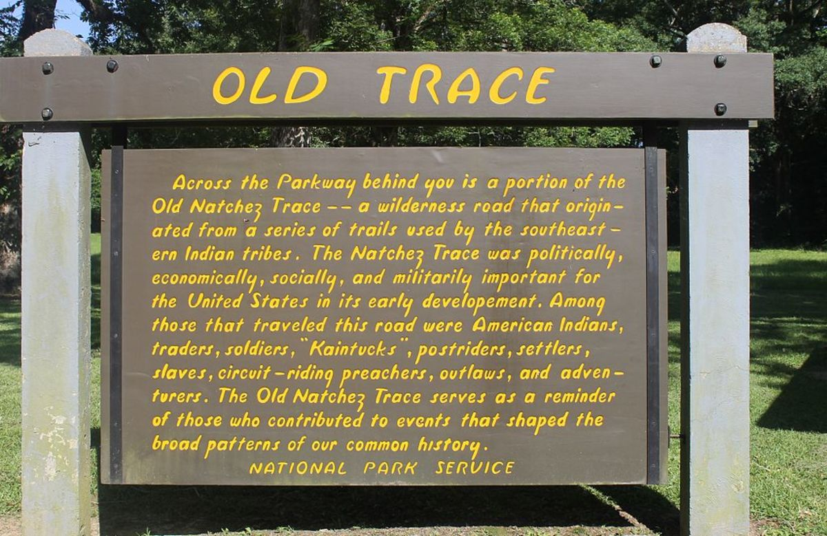 Old Trace Sign