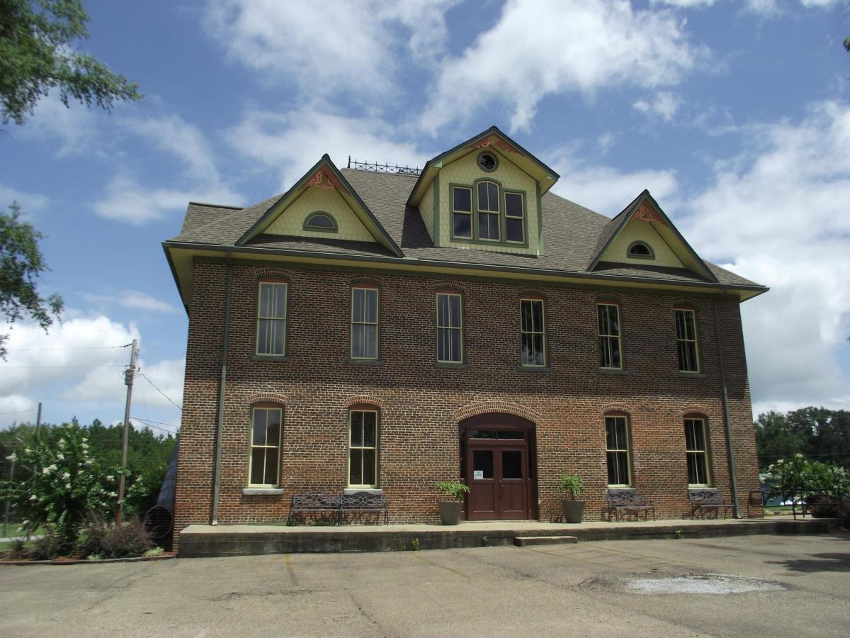 Original New Houlka School after revitalization