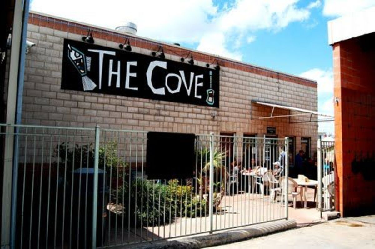 The Cove Restaurant in San Antonio Texas: The Good and the Bad