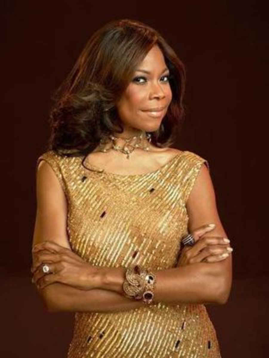 """Angela Robinson as Veronica Harrington on """"The Haves and the Have Nots"""""""