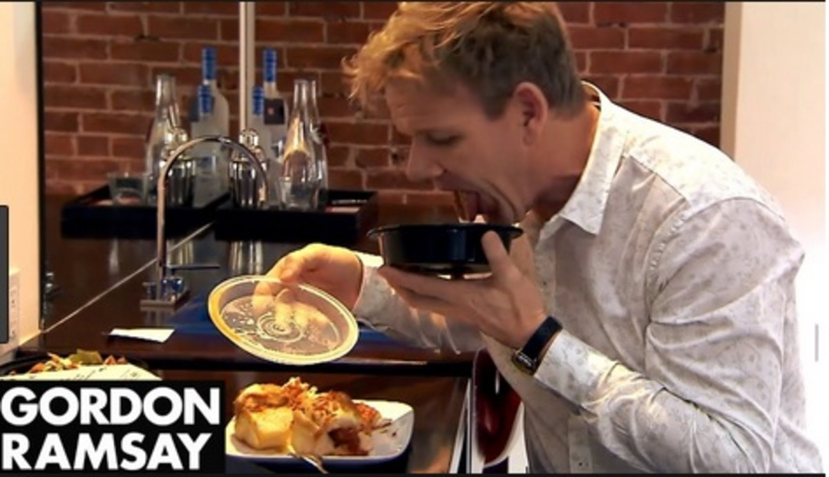 Gordon Ramsay is not at all impressed with the food served at the Keating Hotel.