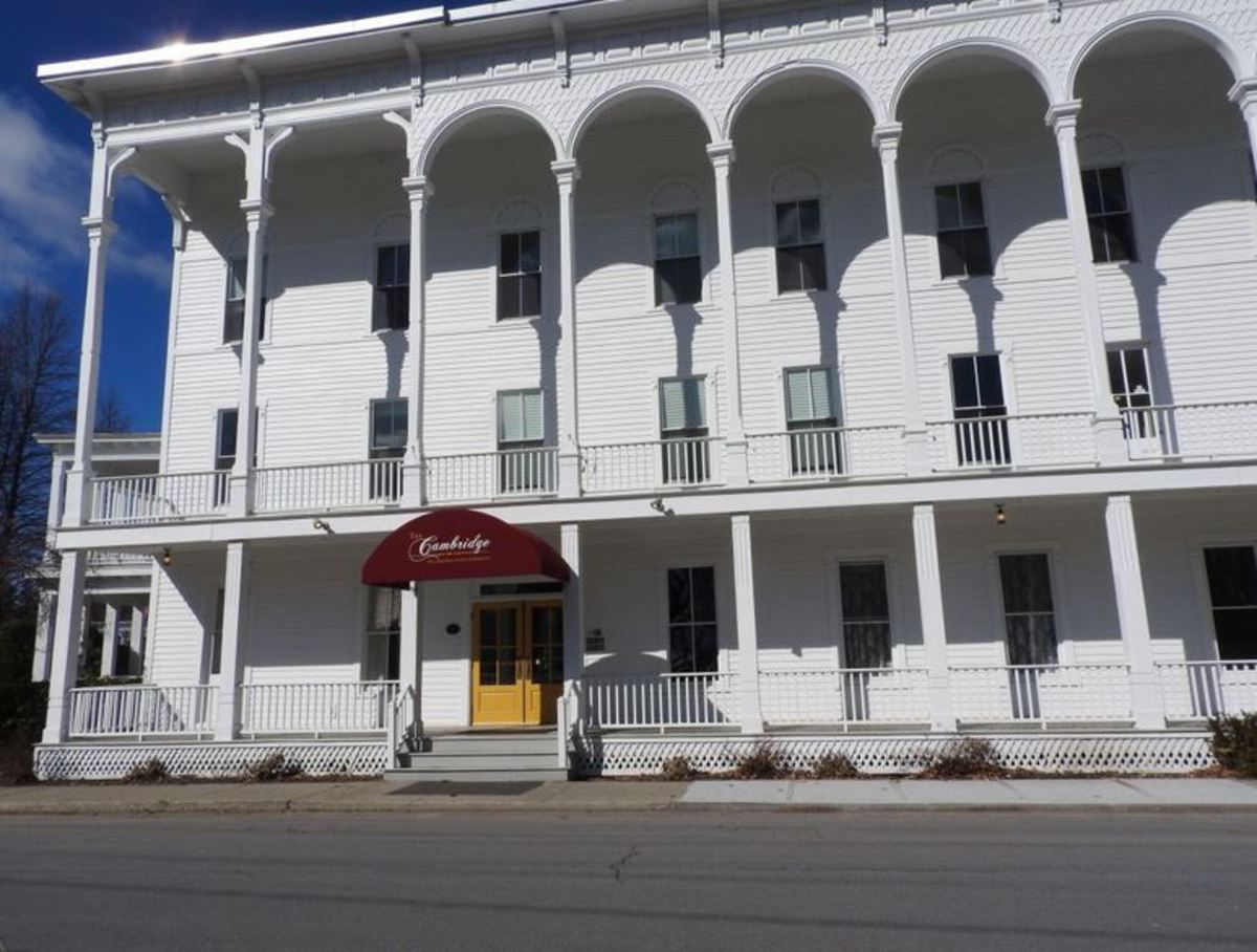 The Cambridge Hotel was foreclosed and is now the Cambridge Assisted Living Facility.