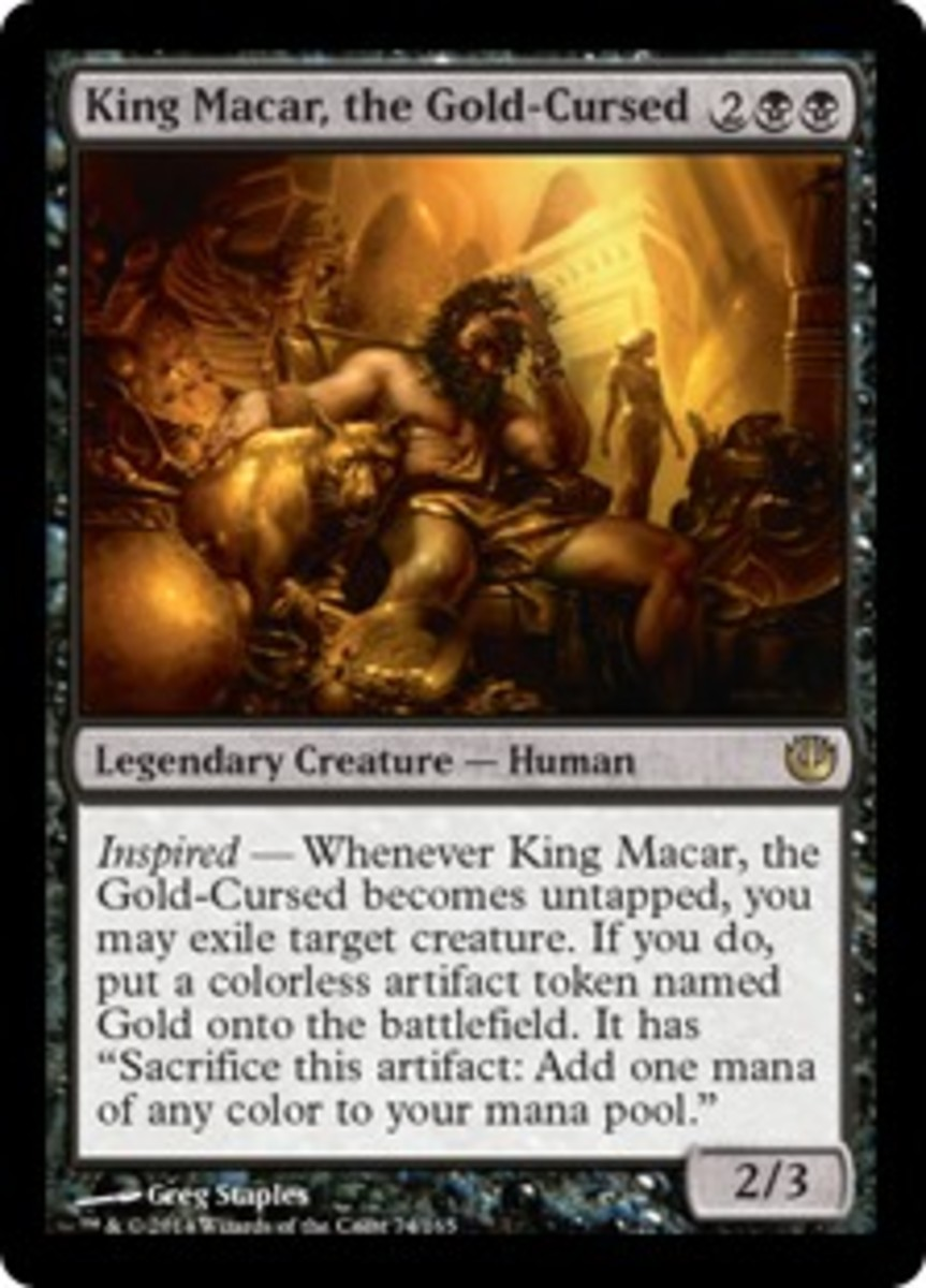 The Greater Greed: Analyzing King Macar and his Golden Touch as EDH Commander