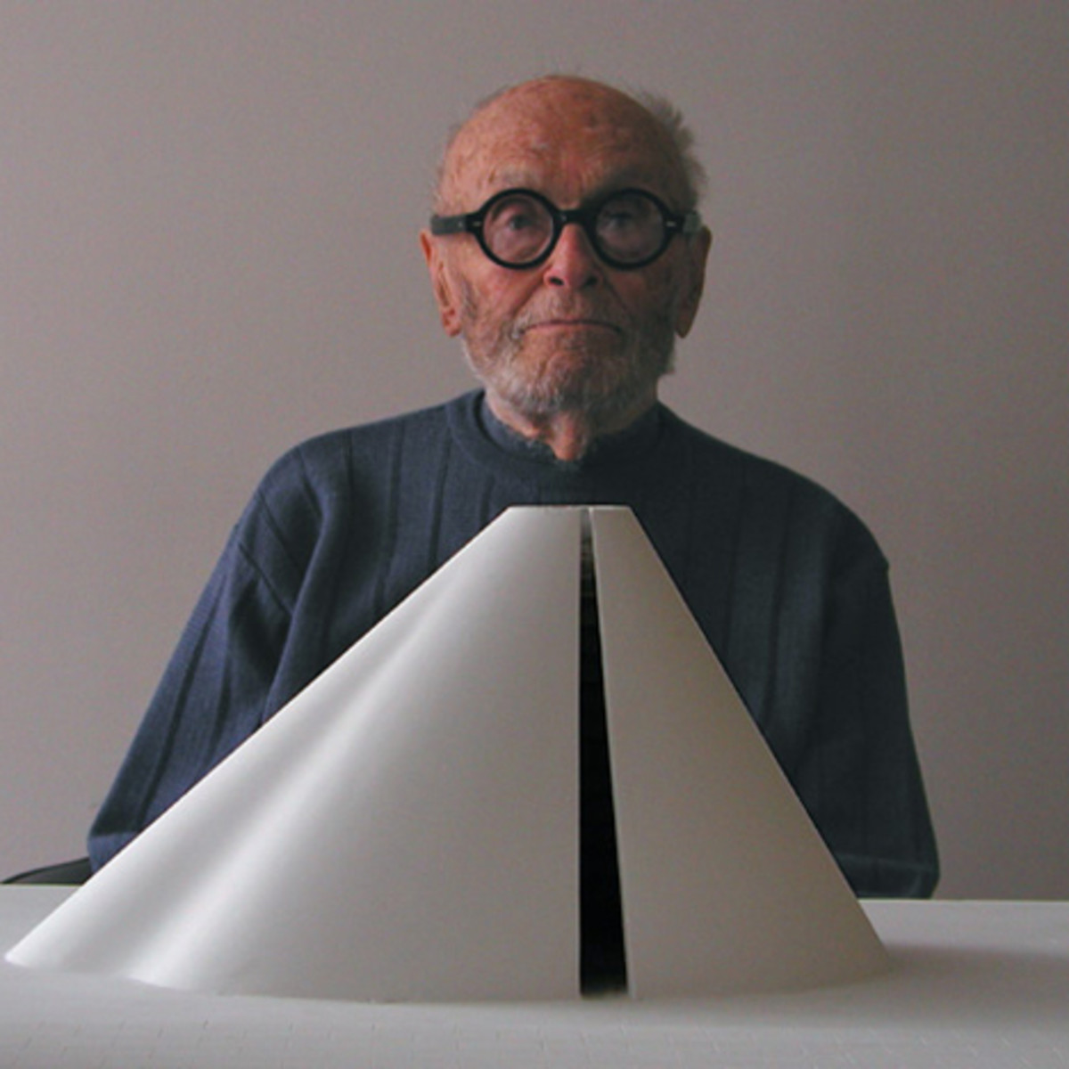 Philip Johnson, one of the founders of Internationalism but also a pioneer into Postmodernism