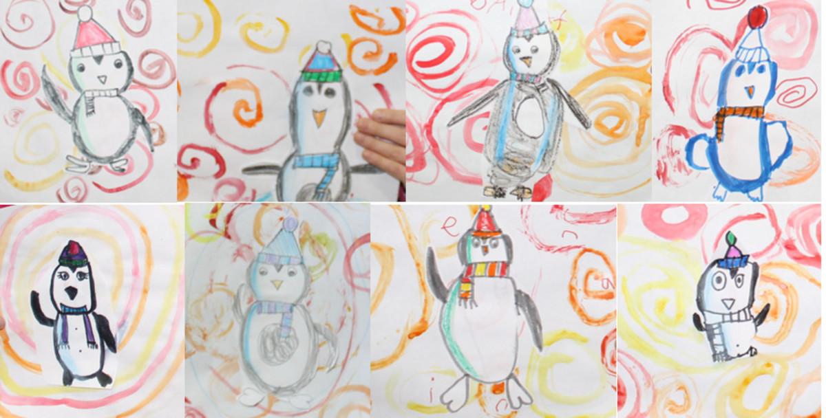 Swirly Penguins
