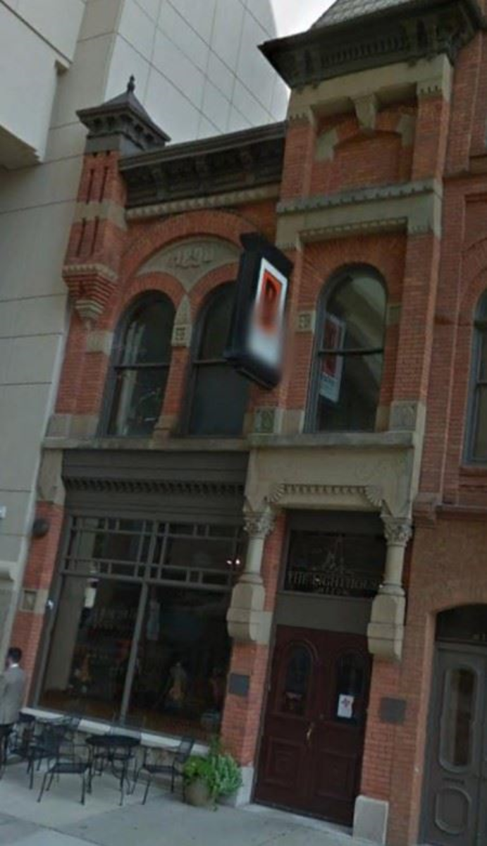 Michigan Millers Building on Ottawa Street, among his rare commercial ventures