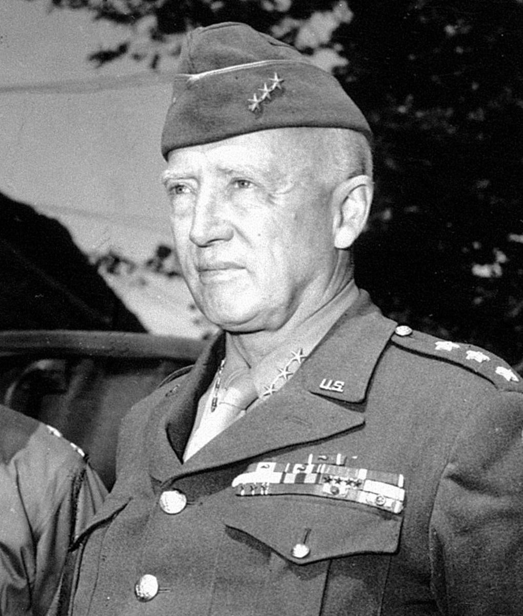 George S Patton would become a household name in the Untied States after the Third Army rescued of the 101st Airborne at Bastogne.