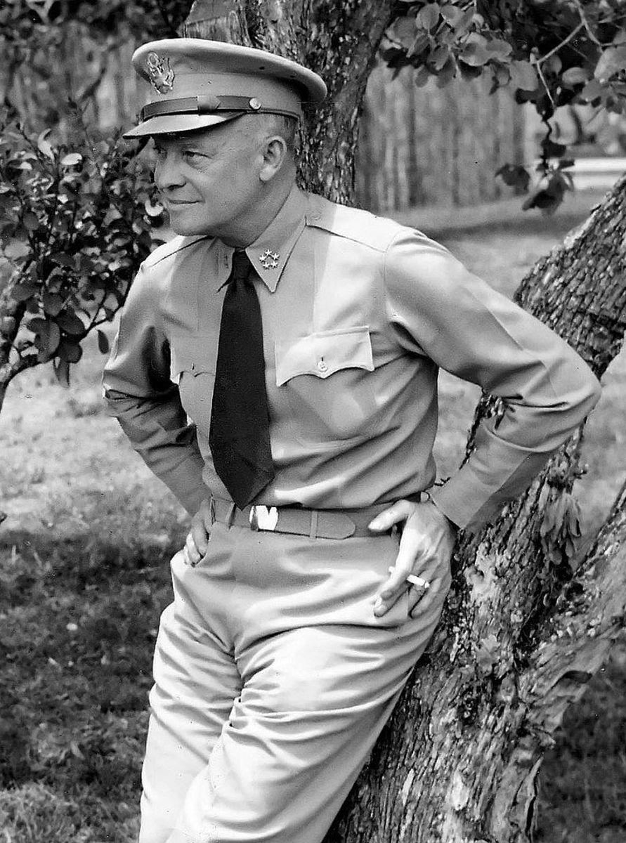 """After the war Eisenhower would become the 34th President of the United State of America. He was known as """"Ike"""" by his generals, Eisenhower would receive his 5th star just days before the Battle of the Bulge."""