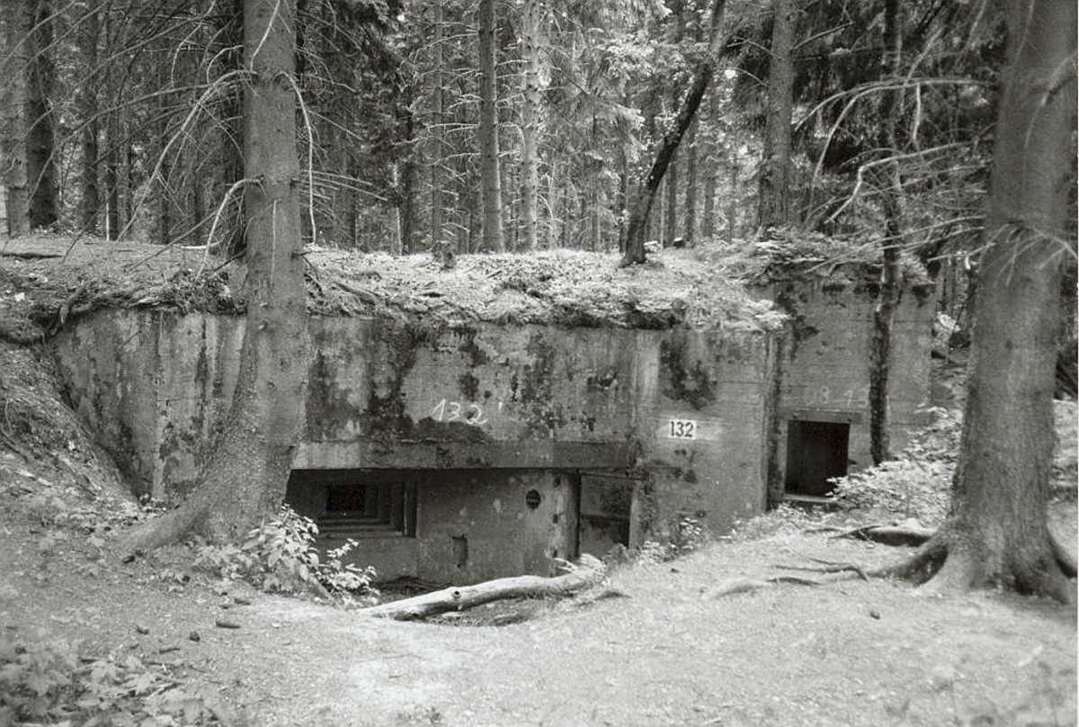 Bunker complex on the West Wall.