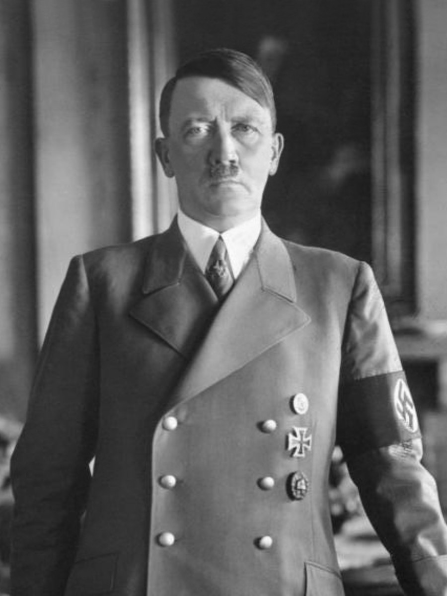 Adolf Hitler before the Second World War picture taken sometime in the 1930s at the height of his popularity.