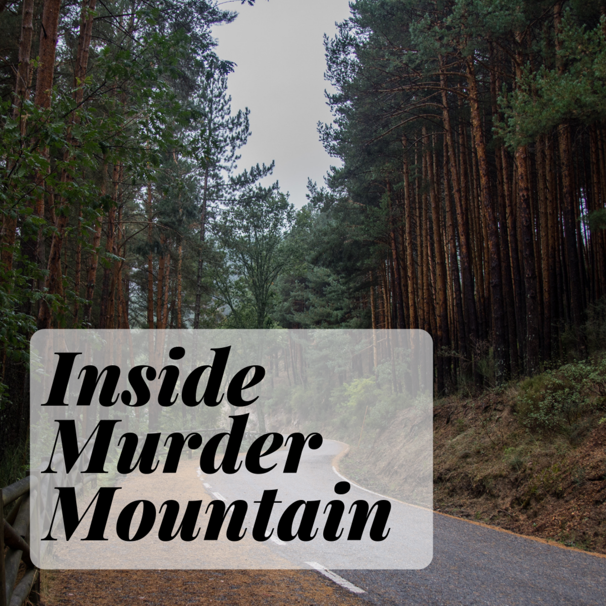 Alderpoint, CA is known as Murder Mountain