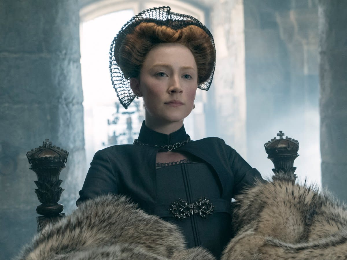 Mary, Queen of Scots, played by Saoirse Ronan